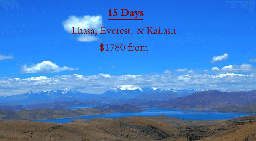 Go to 15 days Mount Kailash and Lake Monasarovar group tour