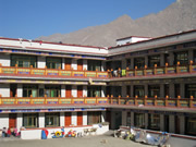 The New Building of Dickey Orphanage