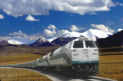 Luxury new oriental express tibet train