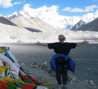 Tibet travel review by our delighted customer - Eris at Mt. Everest
