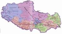 Disctrict Map of Tibet