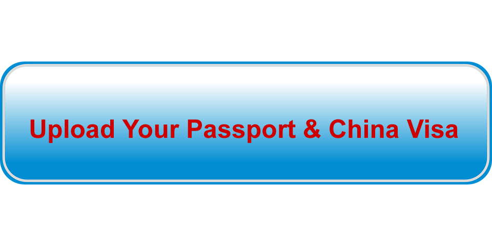 upload your passport and China visa