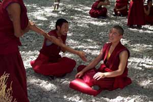 Drepung Monastery Debating