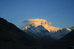 Sunrise of Mt. Everest