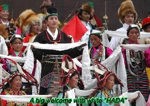 Tibetans with Haha
